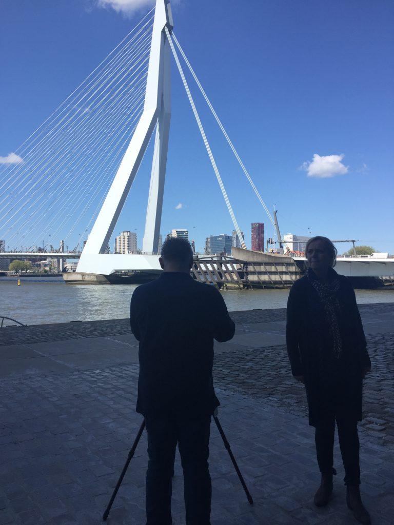 Erasmusbrug Rotterdam (De Rotterdam)